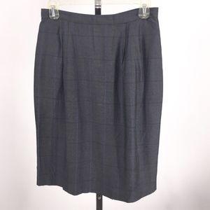 Jones New York Women's Plaid Career Skirt